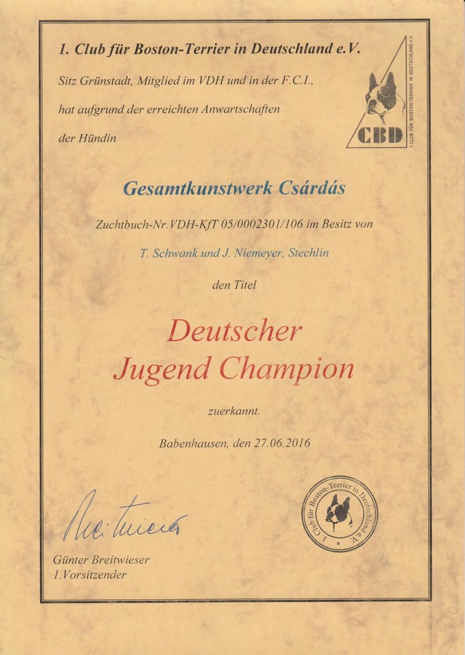 Csárdás Champions Jugend - 1